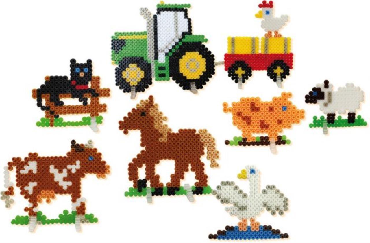 Vorlage Bügelperlen Fpolizei : Ses Bugelperlen Bauernhof 2400 Stuck - Molly Daily Blogs